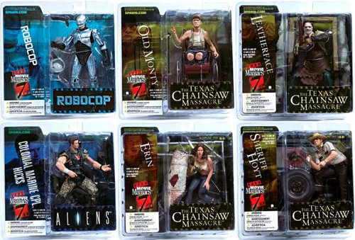 McFarlane Toys Movie Maniacs Series 7 Set of 6 Action Figures