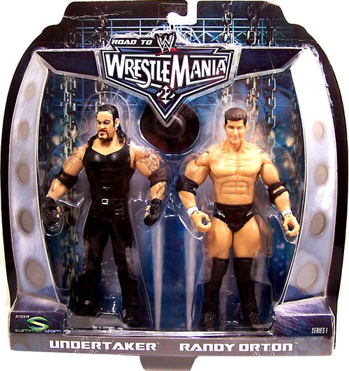WWE Wrestling Road to WrestleMania 22 Series 1 Randy Orton vs. Undertaker Action Figure 2-Pack