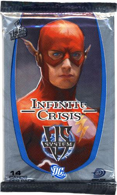 DC VS System Trading Card Game Infinite Crisis Booster Pack [Sealed]