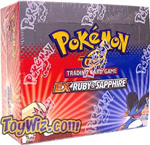 Pokemon EX Ruby & Sapphire Booster Box [36 Packs] [Sealed]