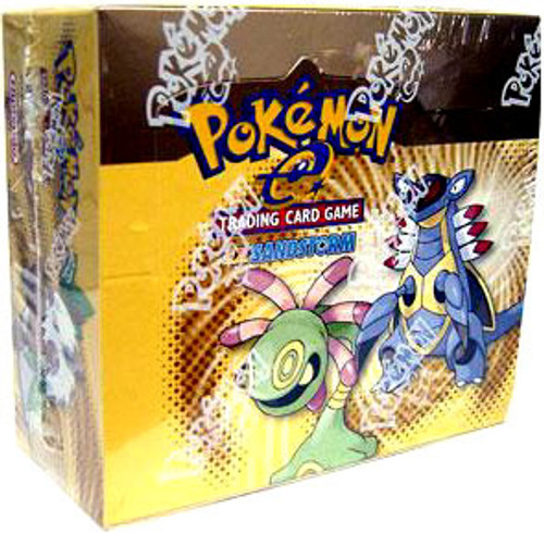 Pokemon EX Sandstorm Booster Box [36 Packs] [Sealed]