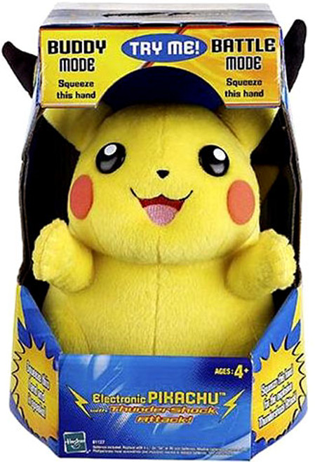 Pokemon Electronic Pikachu Plush