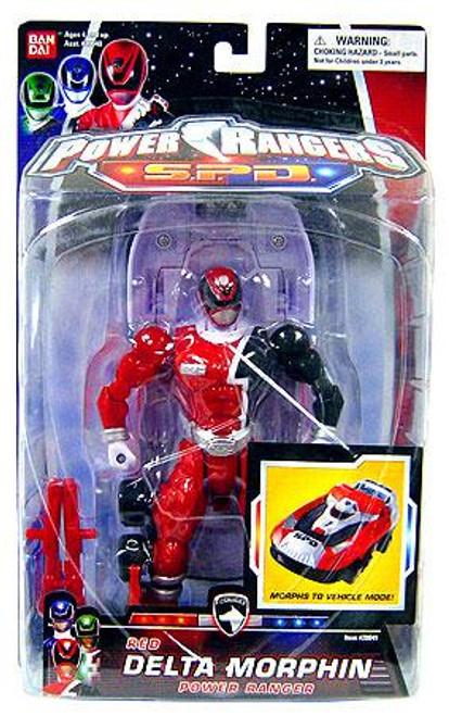 Power Rangers SPD Red Delta Morphin Power Ranger Action Figure