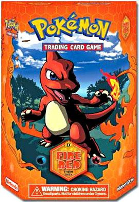 Pokemon Fire Red & Leaf Green Fire Red Theme Deck [Sealed Deck]