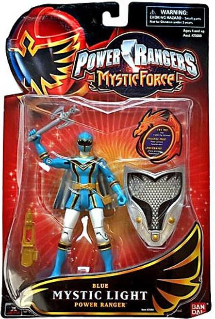 Power Rangers Mystic Force Blue Mystic Light Power Ranger Action Figure