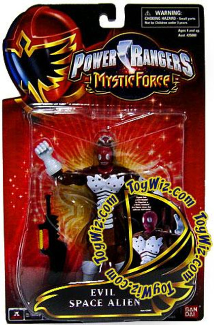 Power Rangers Mystic Force Evil Space Alien Action Figure