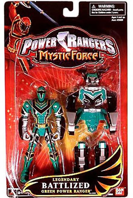 Power Rangers Mystic Force Legendary Battlized Green Power Ranger Action Figure