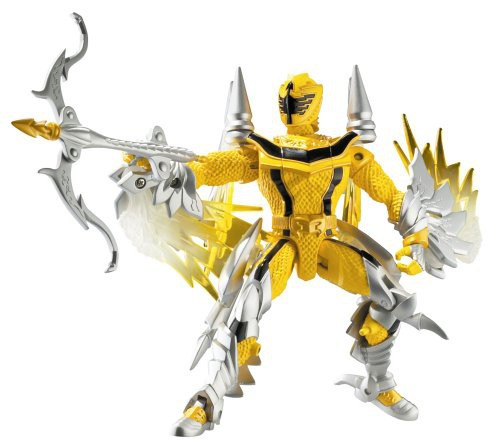 Power Rangers Mystic Force Yellow Ranger to Thunder Dragon Action Figure