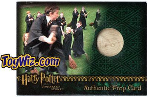 Harry Potter The Sorcerer's Stone Practice Broom Authentic Prop Card #295/450