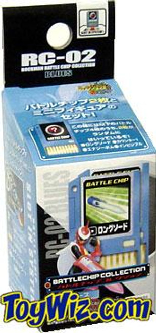 Capcom Mega Man Japanese Battlechip Collection Protoman RC-02 PVC Figure