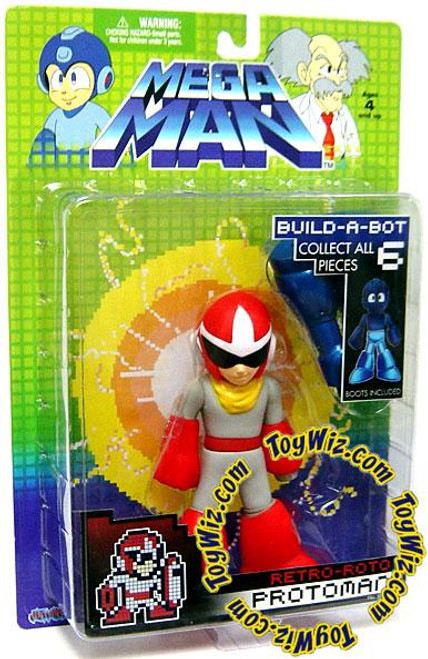 Mega Man Series 1 Retro Roto Protoman Action Figure