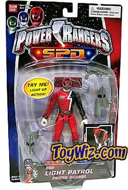 Power Rangers SPD Red Light Patrol Power Ranger Action Figure