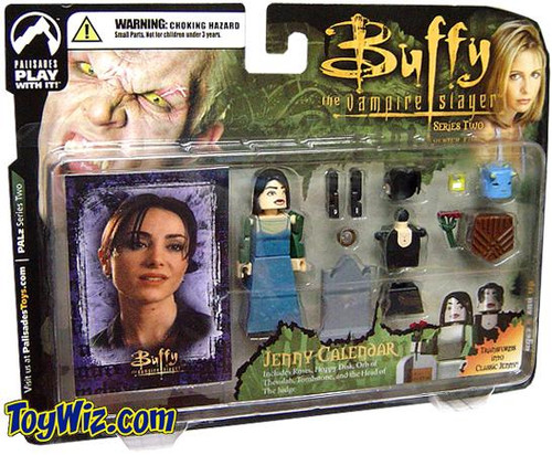 Buffy The Vampire Slayer PALz Series 2 Jenny Calendar Mini Figure