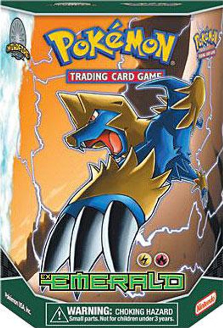 Pokemon EX Emerald Wildfire Theme Deck [Sealed Deck]