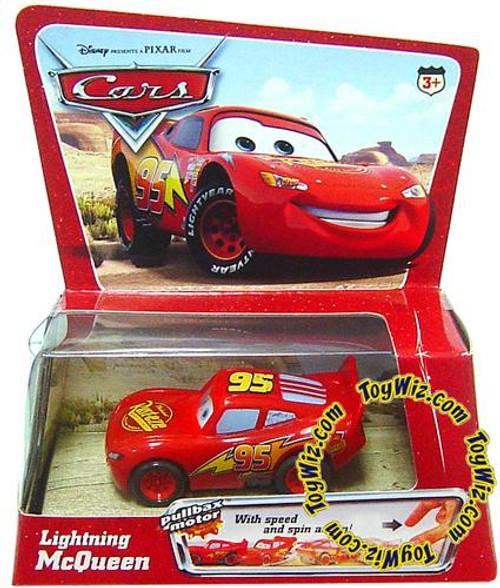 Disney Cars Pullbax Motor Pull Back Lightning McQueen Plastic Car
