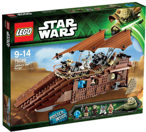 LEGO Star Wars Return of the Jedi Jabba's Sail Barge Set #75020