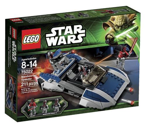 LEGO Star Wars The Clone Wars Mandalorian Speeder Set #75022