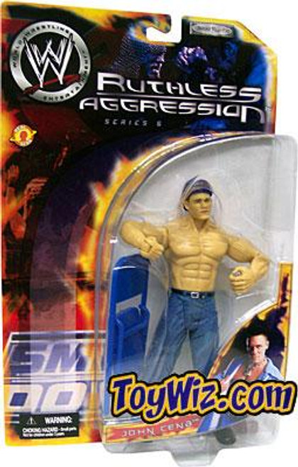 WWE Wrestling Ruthless Aggression Series 5 John Cena Action Figure