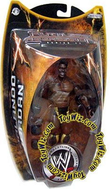 WWE Wrestling Ruthless Aggression Series 17 Orlando Jordan Action Figure