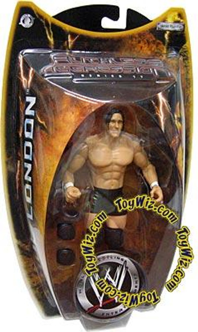 WWE Wrestling Ruthless Aggression Series 17 Paul London Action Figure