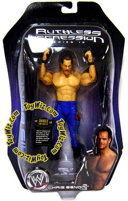 WWE Wrestling Ruthless Aggression Series 19 Chris Benoit Action Figure