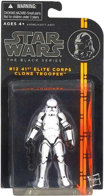 Star Wars Revenge of the Sith Black Series Wave 2 Clone Trooper 41st Action Figure #12
