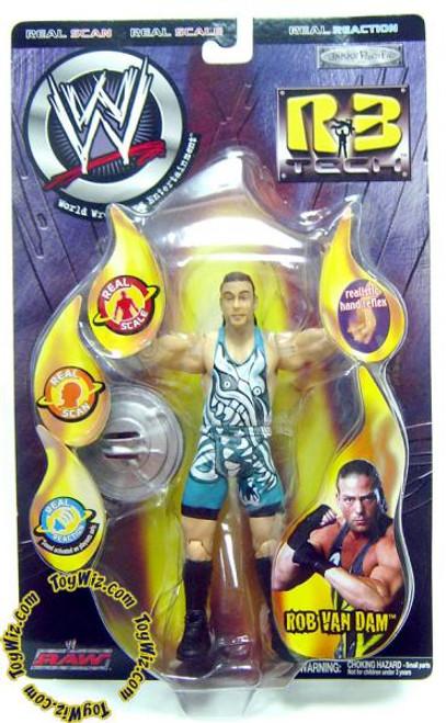 WWE Wrestling R3 Tech Series 5 RVD Rob Van Dam Action Figure
