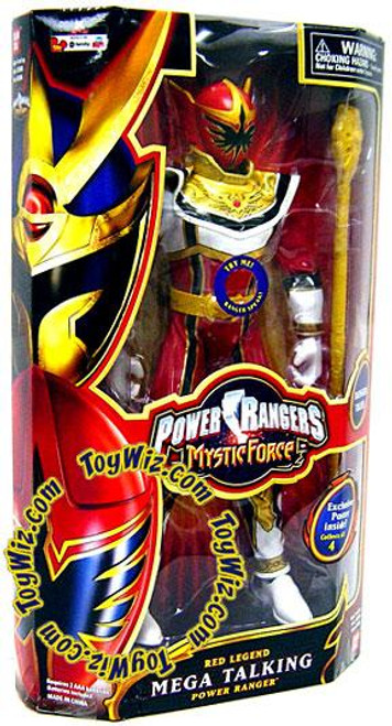 Power Rangers Mystic Force Red Legend Mega Talking Power Ranger 12 Inch Action Figure