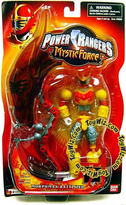 Power Rangers Mystic Force Red Morphmax Battlized Ranger Action Figure