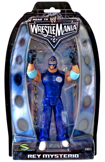WWE Wrestling Road to WrestleMania 22 Series 1 Rey Mysterio Action Figure