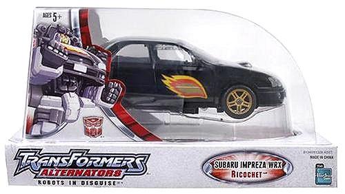 Transformers Alternators Subaru Impreza Ricochet Action Figure