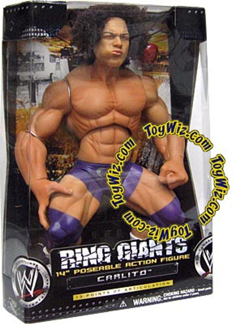 WWE Wrestling Ring Giants Series 3 Carlito Action Figure