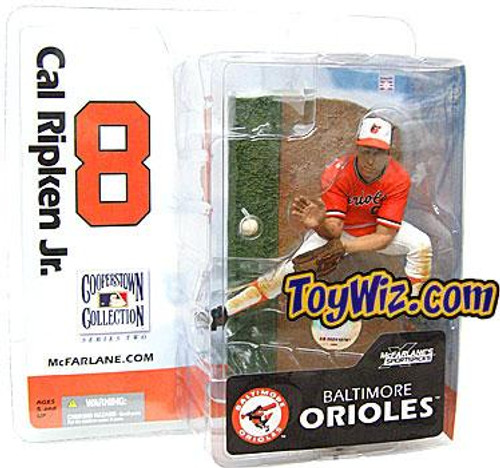 McFarlane Toys MLB Cooperstown Collection Series 2 Cal Ripken Jr. Action Figure [Orange Jersey]