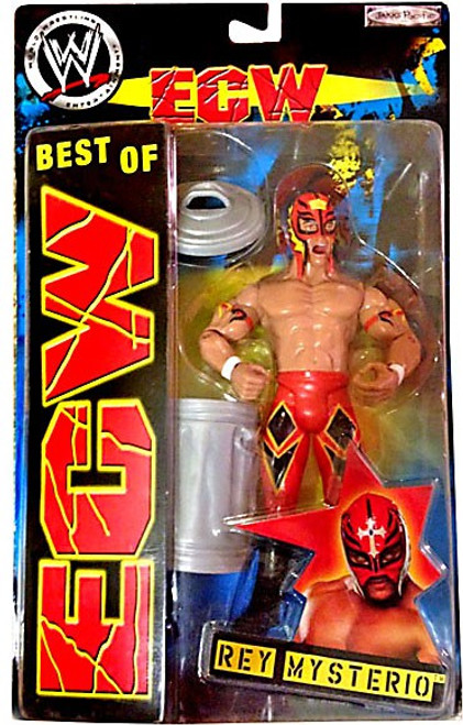 WWE Wrestling Best of ECW Rey Mysterio Action Figure #1 [Red Mask & Pants]