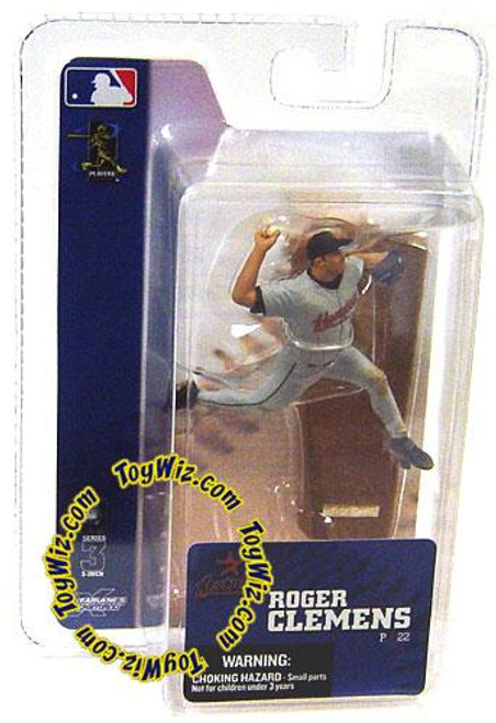 McFarlane Toys MLB Houston Astros Sports Picks 3 Inch Mini Series 3 Roger Clemens Mini Figure