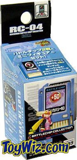 Capcom Mega Man Japanese Battlechip Collection Roll RC-04 PVC Figure