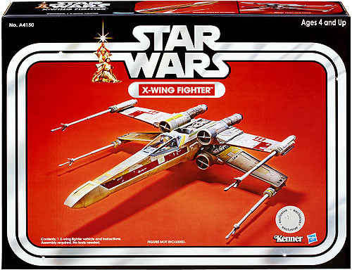 Star Wars A New Hope Vintage Collection Vehicles X-Wing Fighter Action Figure Vehicle