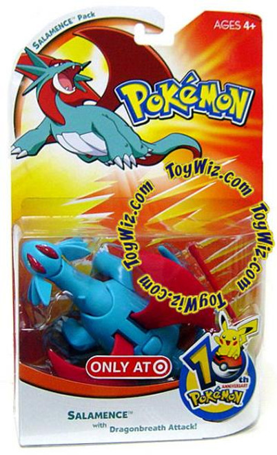 Pokemon 10th Anniversary Salamence Exclusive Action Figure