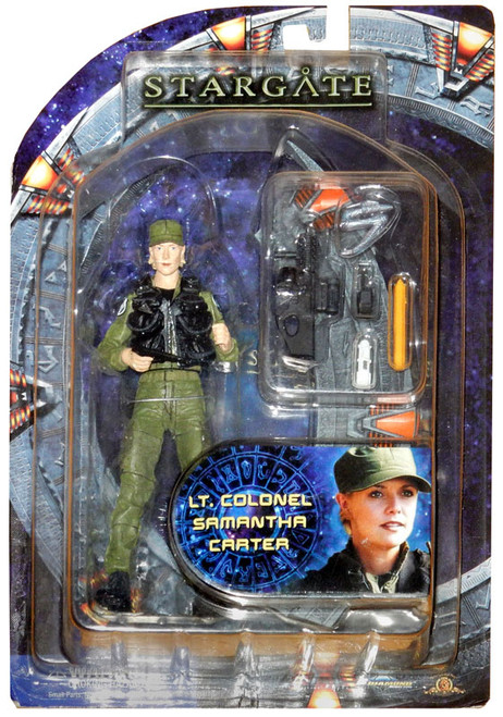 Stargate SG-1 Series 2 Samantha Carter Action Figure [Lieutenant Colonel]
