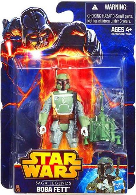 Star Wars Return of the Jedi Saga Legends 2013 Boba Fett Action Figure SL09