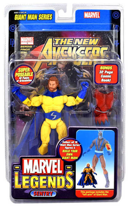 Marvel Legends Giant Man Build A Figure Sentry Exclusive Action Figure [Bearded Variant]