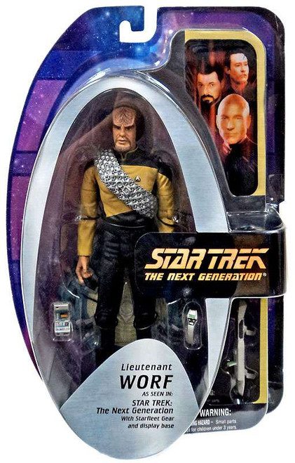 Star Trek The Next Generation TNG Series 1 Lieutenant Worf Action Figure [Season 7]