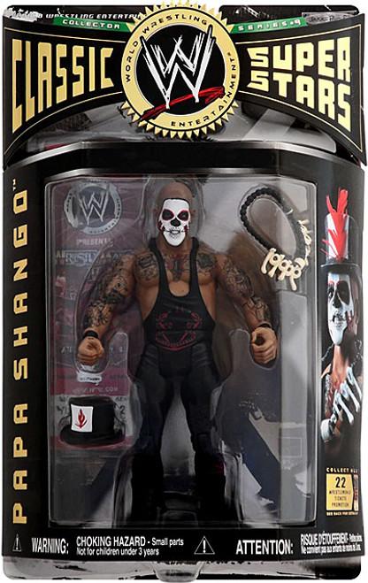 WWE Wrestling Classic Superstars Series 9 Papa Shango Action Figure