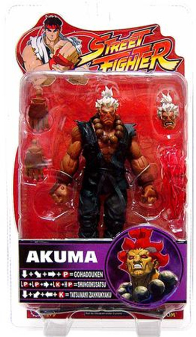 Street Fighter Series 4 Shin Akuma Action Figure