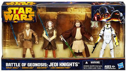 Star Wars Attack of the Clones Boxed Sets 2012 Battle of Geonosis: Jedi Knight Exclusive Action Figure Set [1 of 2]