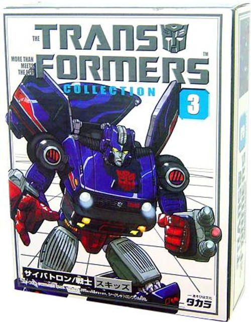Transformers Japanese Collector's Series Skids Action Figure #3