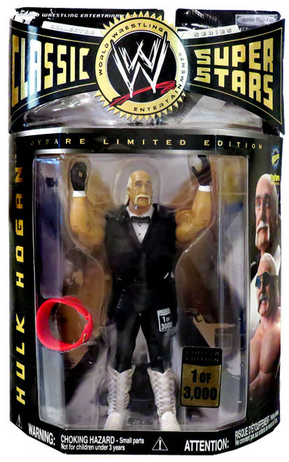 WWE Wrestling Classic Superstars Limited Editions Hulk Hogan Exclusive Action Figure [Slammy Awards]