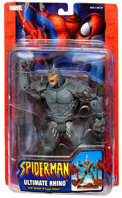 Spider-Man Ultimate Rhino Action Figure
