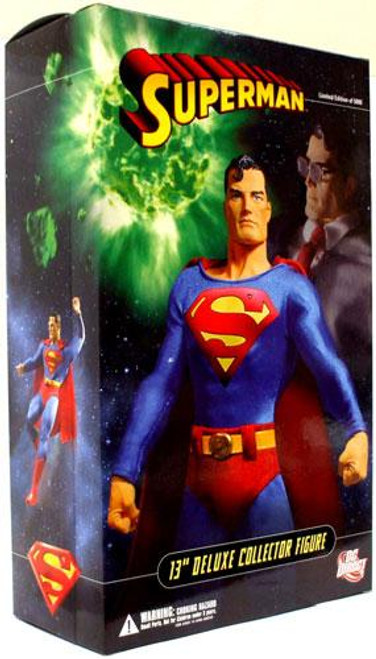 """DC 13"""" Deluxe Superman Collectible Figure"""
