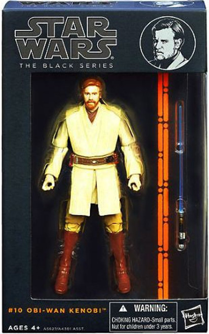 Star Wars Revenge of the Sith Black Series Wave 3 Obi-Wan Kenobi Action Figure #10